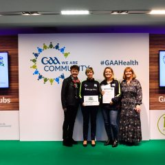 Killoe recognised as GAA Healthy Club 2019